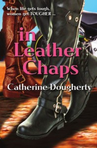 in leather chaps cover