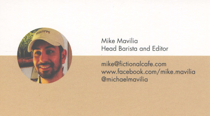 Mike bizcard 6x3