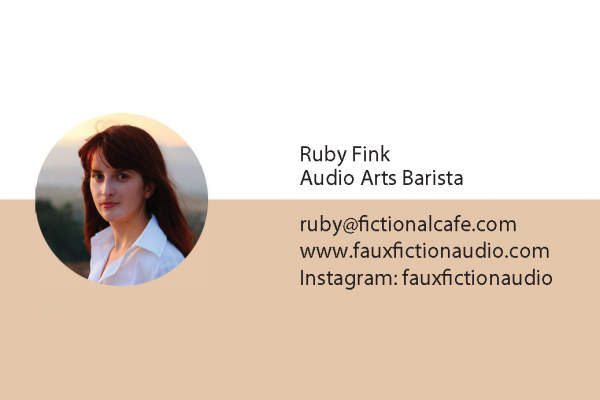 Introducing Ruby Fink, FC's New Audio Arts Barista