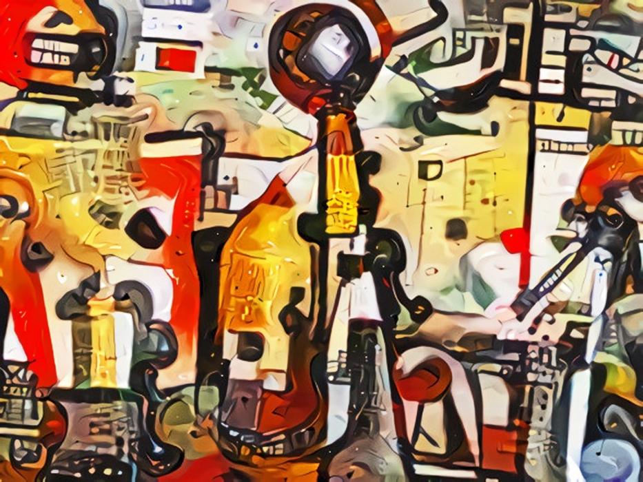 Mind-Melding with Lew Holzman's Art