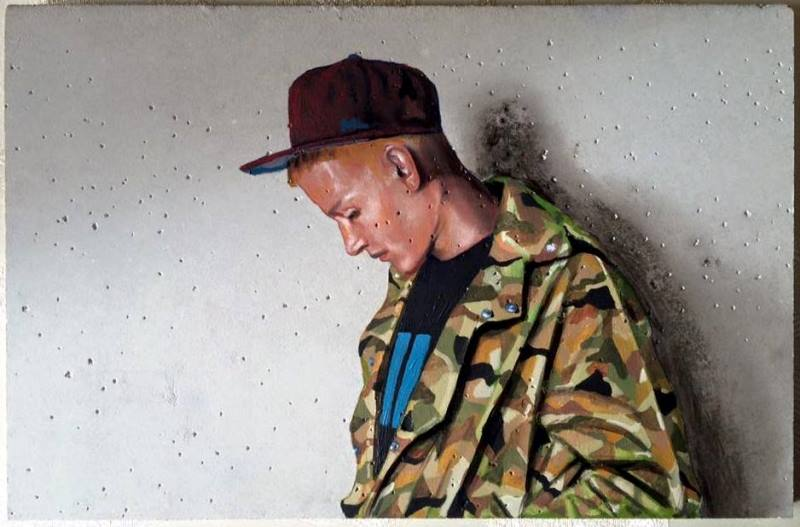 Mario Loprete — Urban Paintings on Concrete