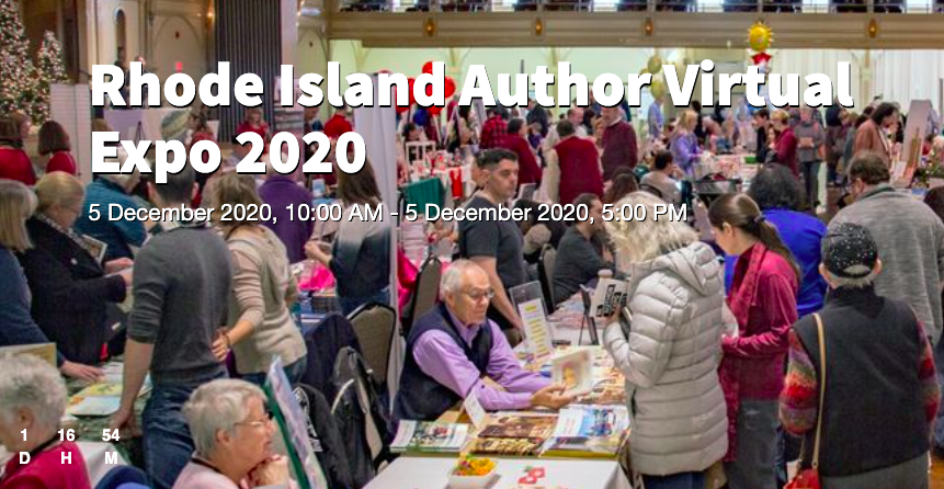 Rhode Island Author Expo – FREE Virtual Conference