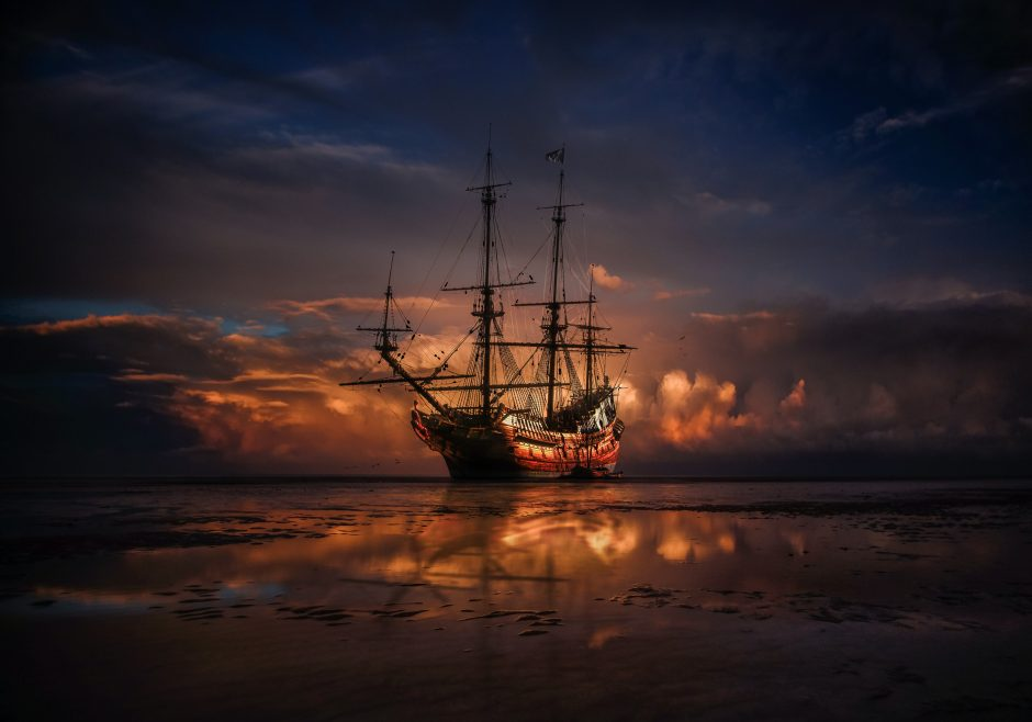 """""""Pirate Ayanna and the Seagulls,"""" by KJ Hannah Greenberg"""