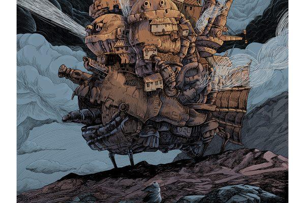 """""""Howl's Moving Castle"""" by Diana Wynne Jones"""