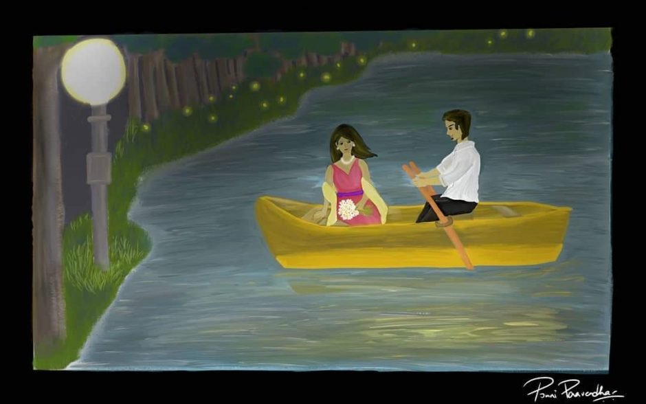 """""""Shush Please,""""  Poetry and Art by Tamizh Ponni"""