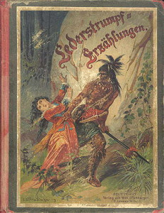 "The cover of the German edition of ""Leatherstocking Tales."" Courtesy Wikipedia"
