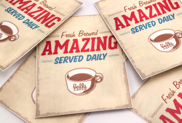 New Contest! Design our Fictional Café Merch Logo!