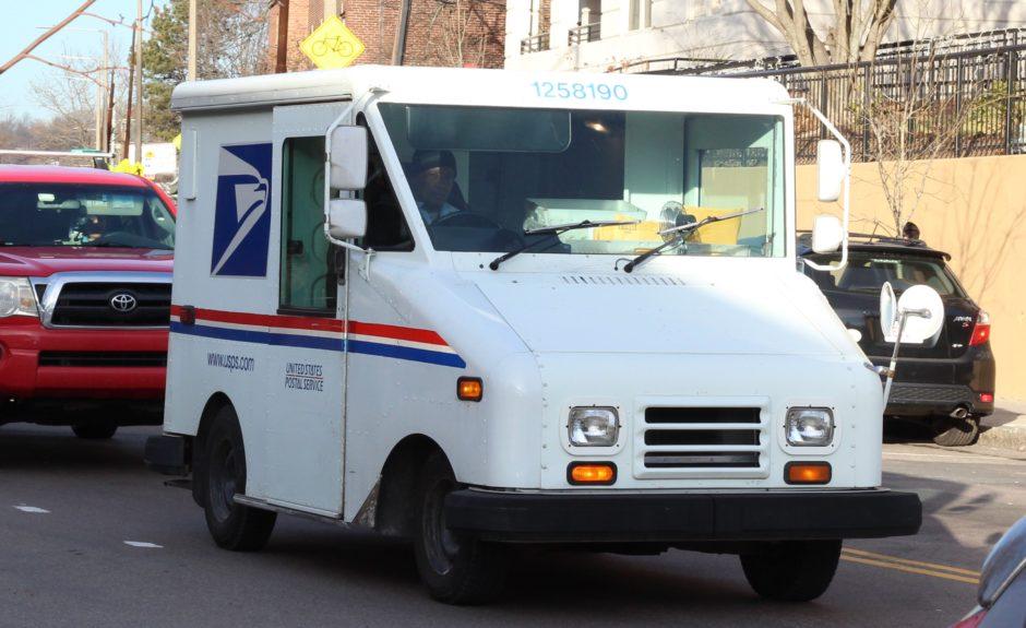 """""""The Postal Man"""" by Randall Krzak"""