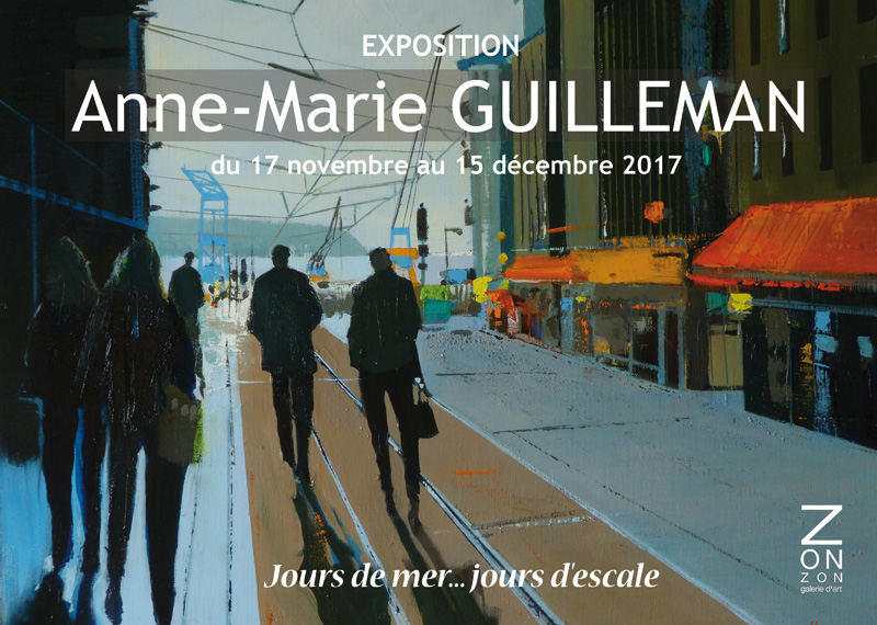 An Art Show from French Painter Anne-Marie Guilleman