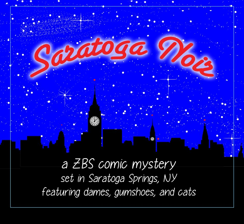 "5 Audiobook Episodes of ""Saratoga Noir"""