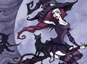 """""""Witches Gone Wicked: Womby's School for Wayward Witches"""" By Sarina Dorie, Part 2"""