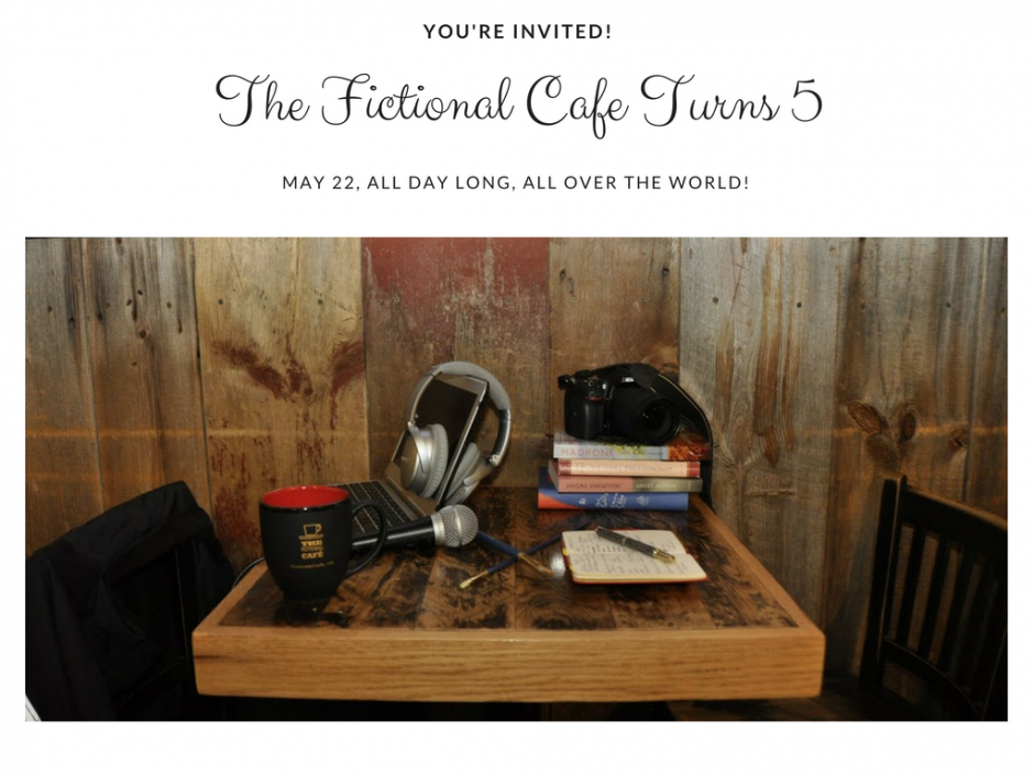 Fictional Cafe Turns 5 Birthday Update